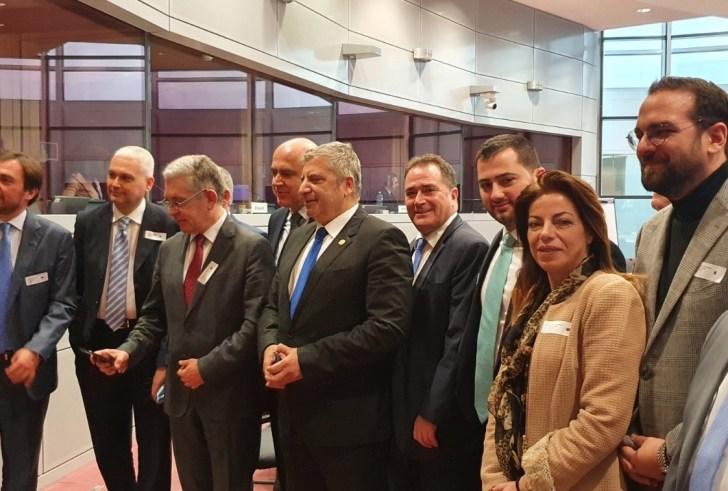 Η Περιφέρεια Κρήτης σε ενημερωτική αποστολή στις υπηρεσίες της Κομισιόν στις Βρυξέλλες