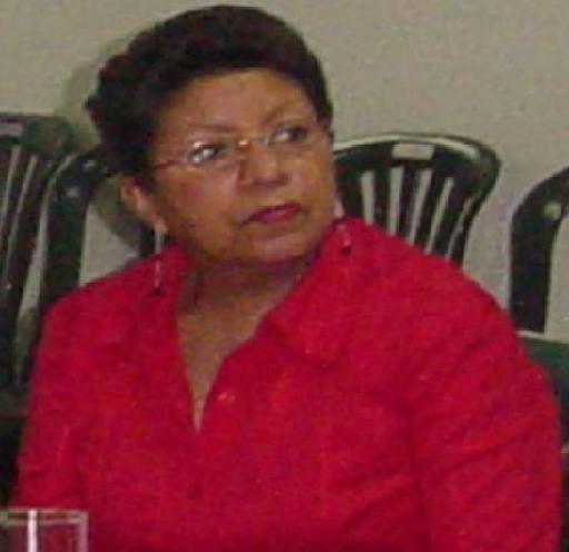 Lídice Navas, enlace de la Alcaldía de Caracas para la parroquia El Valle