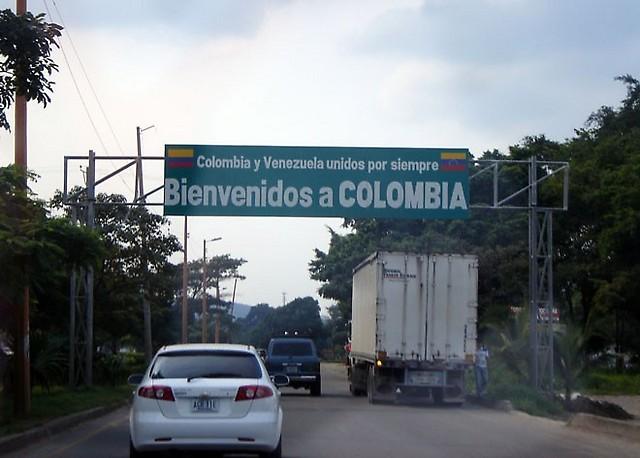 Paso fronterizo Venezuela- Colombia