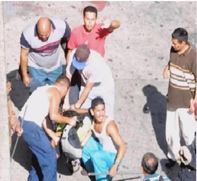 Revolucionarios muertos por balas de franco tiradores el 11 de Abril de 2002.