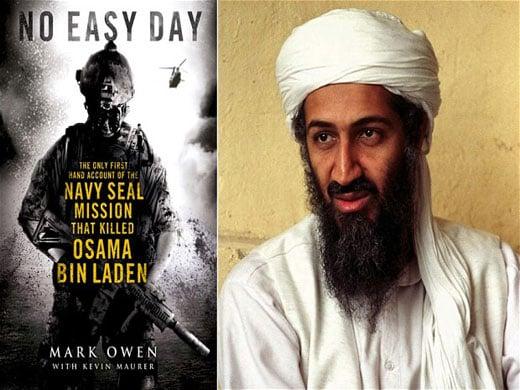 Portada de un libro sobre la operación en la que Bin Laden fue abatido