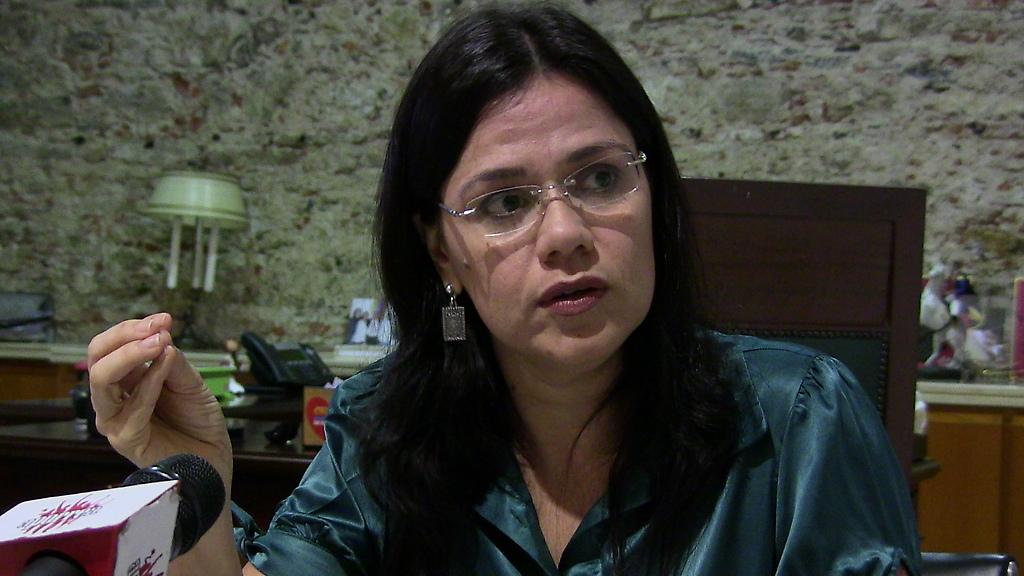Diputada Blanca Eekout