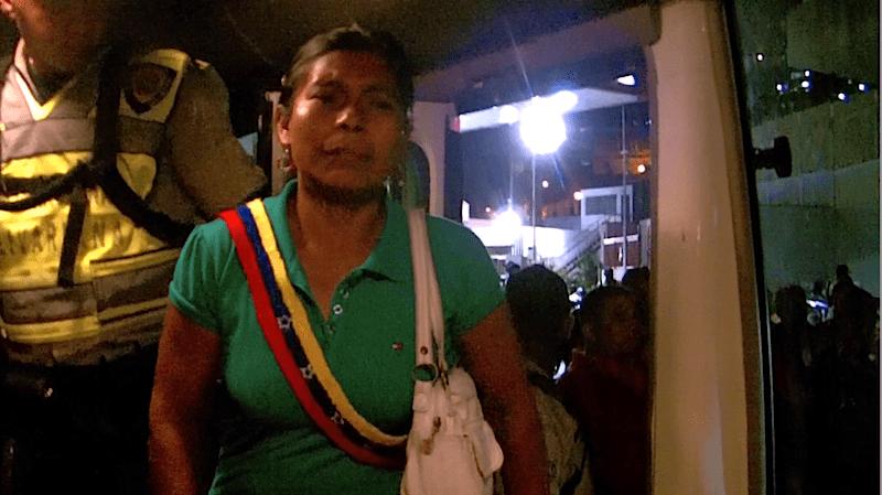 Extenuados llegan a Caracas