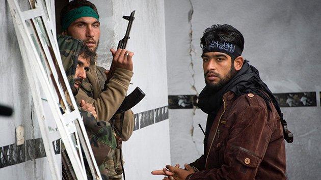 Mercenarios en Siria