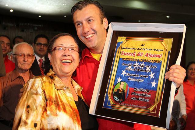 Tareck El Aissami, proclamado gobernador del estado Aragua