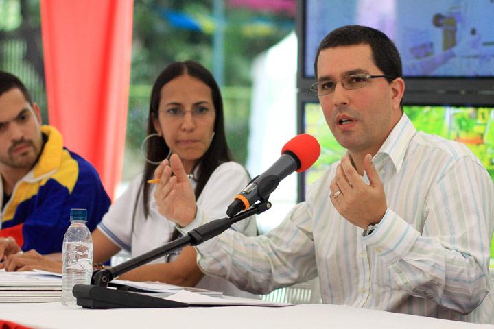 Jorge Arreaza, ministro para la Ciencia y Tecnología