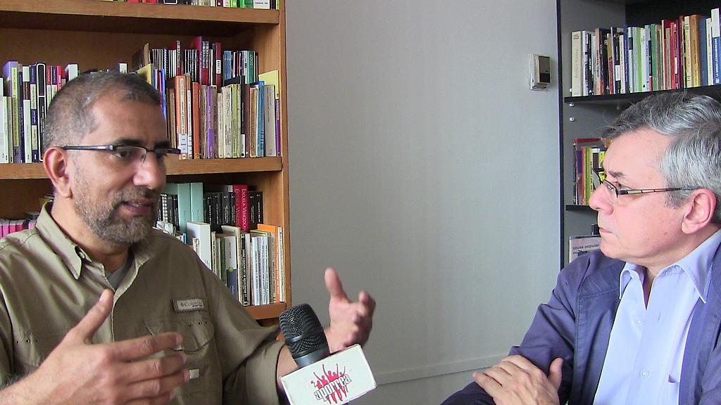 Desde el CIM Gonzalo Gómez  con el economista Victor Álvarez