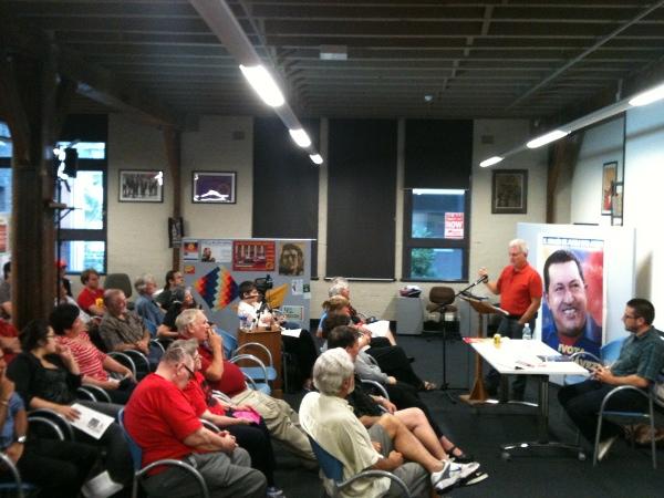 Miguel Ángel Nuñez habló sobre Ecosocialismo en Australia
