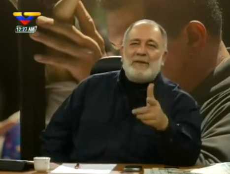 Mario Silva, conductor del programa La Hojilla