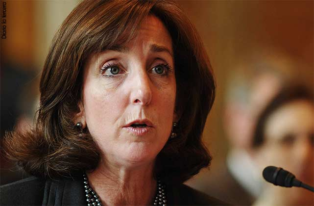 La responsable del Departamento de Estado para Latinoamérica, Roberta Jacobson