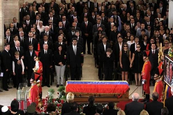Funeral de estado para Chávez