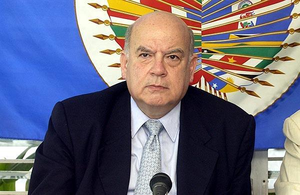 El secretario general de la Organización de Estados Americanos (OEA), José Miguel Insulza