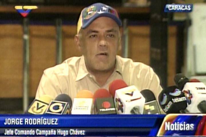 Jorge Rodríguez le dio una revolcada de considerable magnitud a Capriles