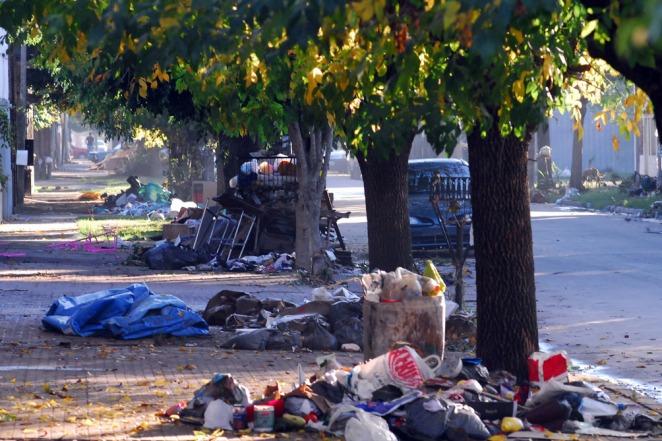 Devastación y dolor en La Plata, Argentina