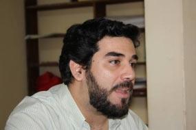 El secretario general del Partido Comunista Paraguayo, Najib Amado
