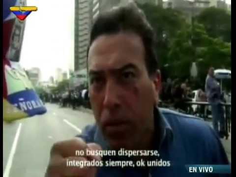 El general retirado Antonio Rivero participa en video obtenido en allanamiento, se pudo observar como organizaba a los manifestantes para enfrentarse a los organismos de orden público