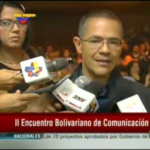 Ministro del Poder Popular para la Comunicación e Información, Ernesto Villegas.
