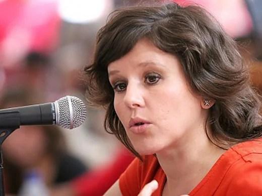 La escritora y abogada venezolana-estadounidense, Eva Golinger