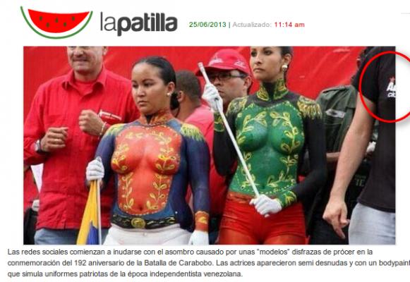Esta imagen no corresponde al desfile del pasado 24 en Carabobo como quisieron hacer creer medios de derecha