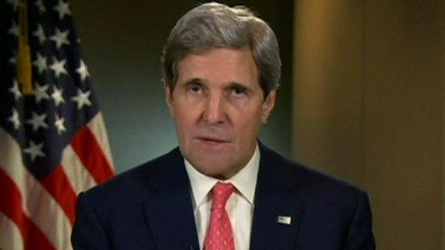El secretario de Estado de Estados Unidos, John Kerry