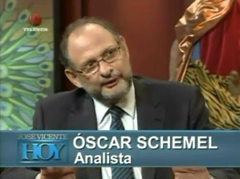 Oscar Schemel, presidente de la encuestadora Hinterlaces.