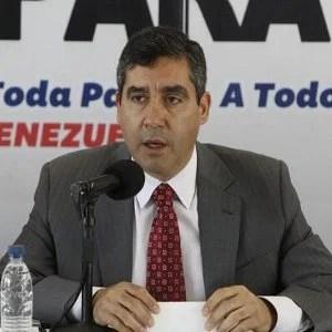 El ministro de Interior, Justicia y Paz, Miguel Rodríguez Torres