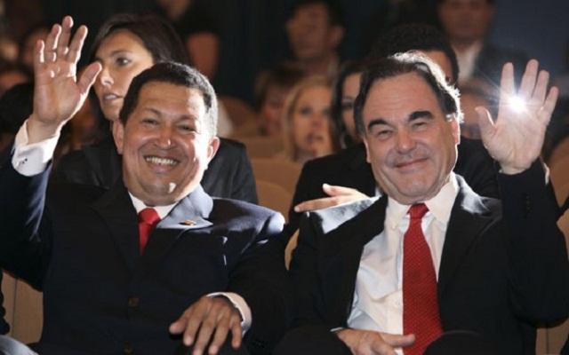 Hugo Chávez y Oliver Stone