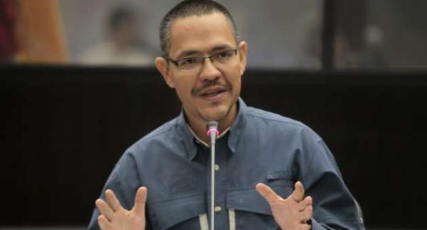 El ministro de Estado para la Transformación Revolucionaria de la Gran Caracas, Ernesto Villegas