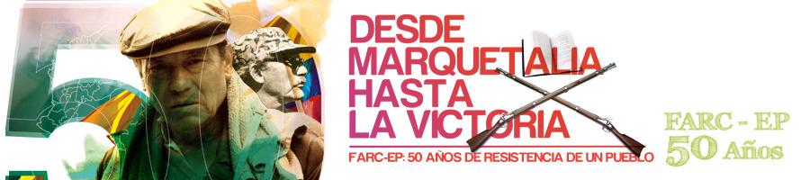 50 años de lucha del pueblo colombiano