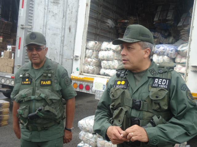 General de División Efraín Velazco Lugo, Jefe de la Región Estratégica de Defensa Integral Táchira- REDI-