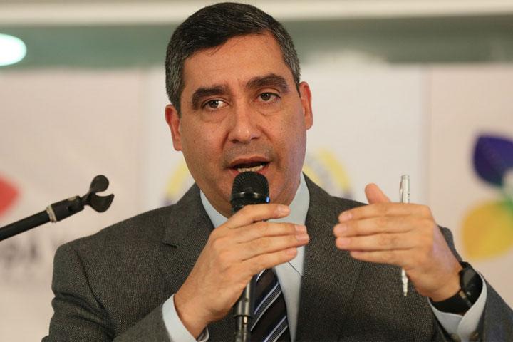 El ministro del Poder Popular para Relaciones Interiores, Justicia y Paz, M/G Miguel Rodríguez Torres