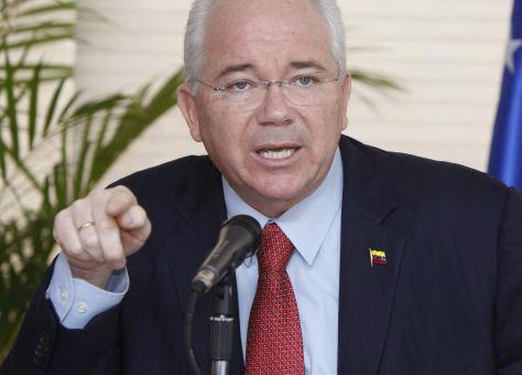 El Canciller Rafael Ramírez