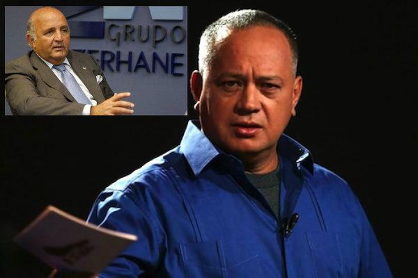 el prófugo de la justicia venezolana, Nelson Mezerhane enviando armas y municiones a Venezuela.