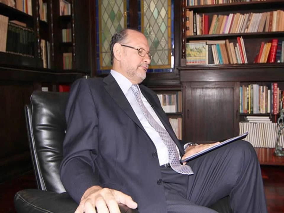 Oscar Shémel, presidente de la consultora Hinterlaces