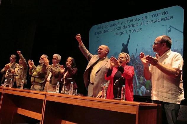 Resultado de imagen para intelectuales chavistas