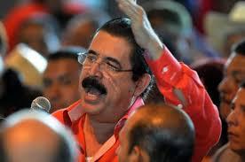 el ex mandatario hondureño felicitó la actitud soberana de Venezuela ante los frecuentes ataques de Estados Unidos.