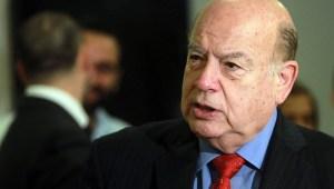 El ex-secretario general de la OEA, José Miguel Insulza