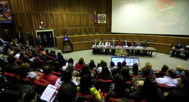 Cabello comentó que la Asamblea Nacional culminará sus funciones atendiendo todas las tareas pendientes antes de culminar su mandato en el año 2016.