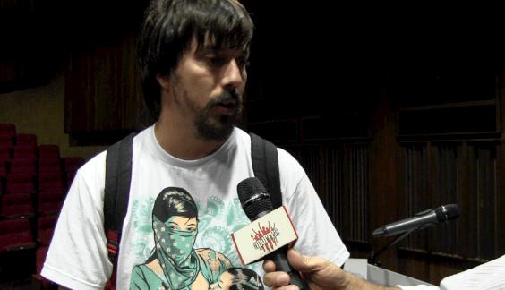 Lucas Consalvo de la Brigada Internacionalista Che Guevara del Argentina en el II Taller de Verano, Geopolítica en América Latina