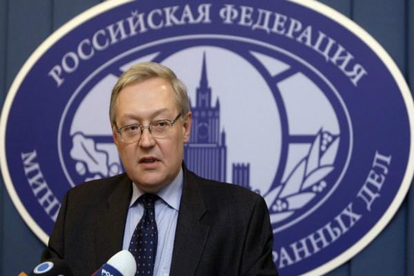 Serguéi Riabkov, viceministro de Exteriores ruso.