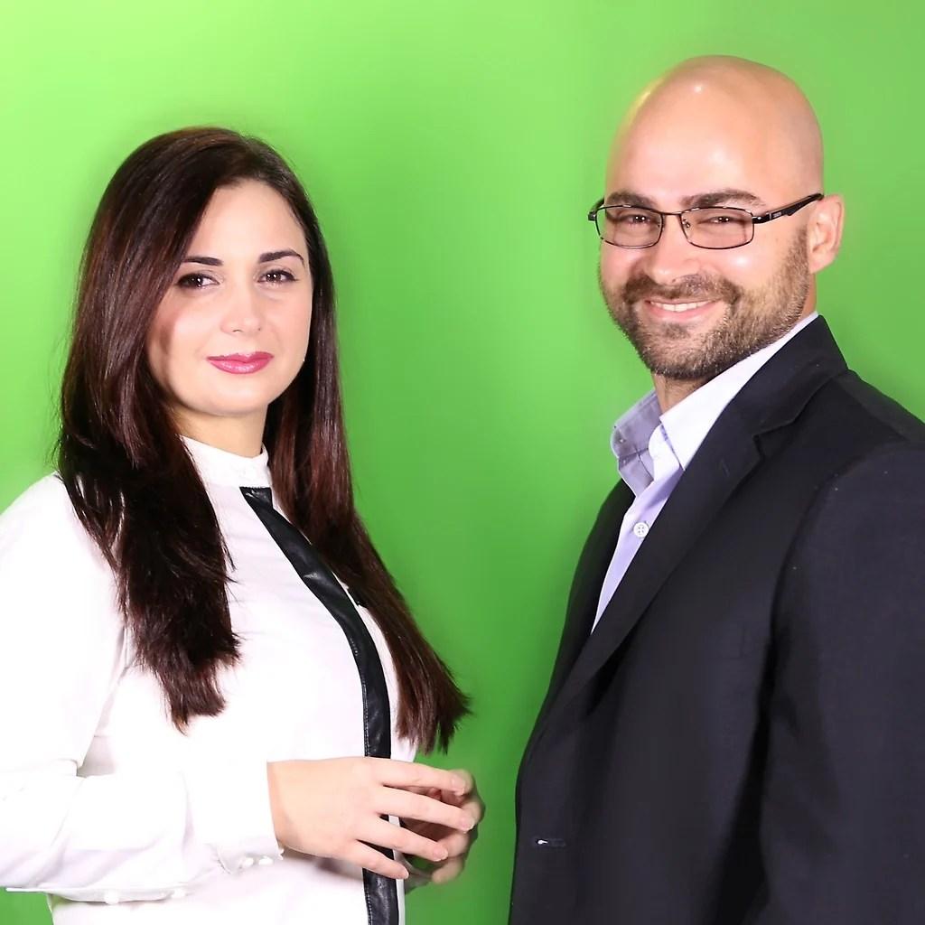 Basem y Laila Tajeldine