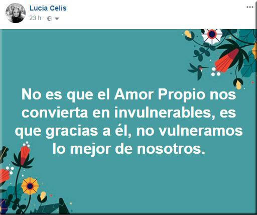 No es que el Amor Propio nos convierta en invulnerables, es que gracias a él, no vulneramos lo mejor de nosotros.