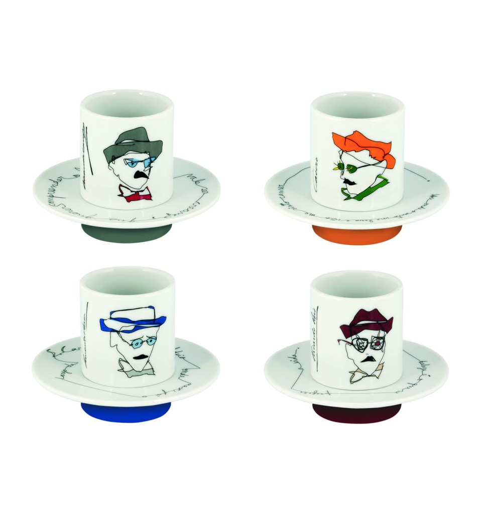 Heteronimos coffee cups Pessoa