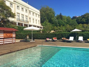 Palácio de Seteais pool