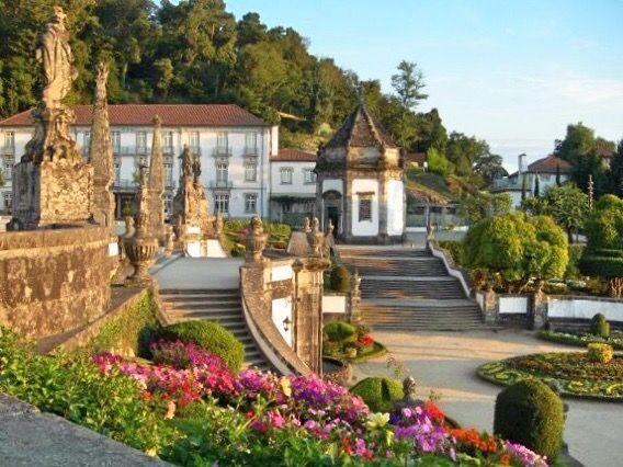 Gardens at the Bom Jesus do Monte sanctuary