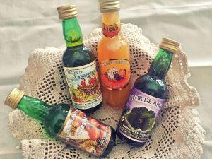 Portuguese liqueurs Azores