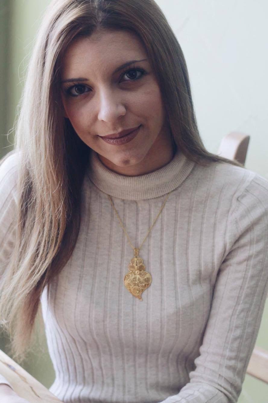 Melanie filigree necklace