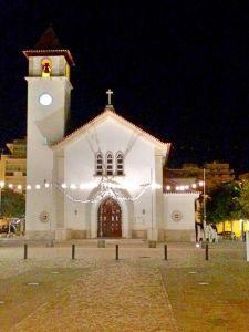 Church at night Algarve