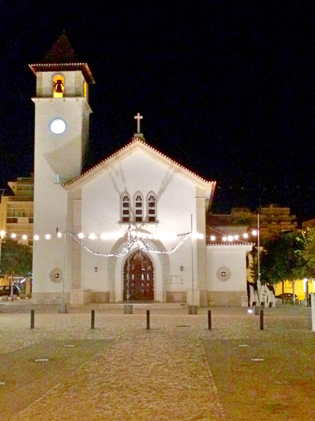 Church at night Algarve