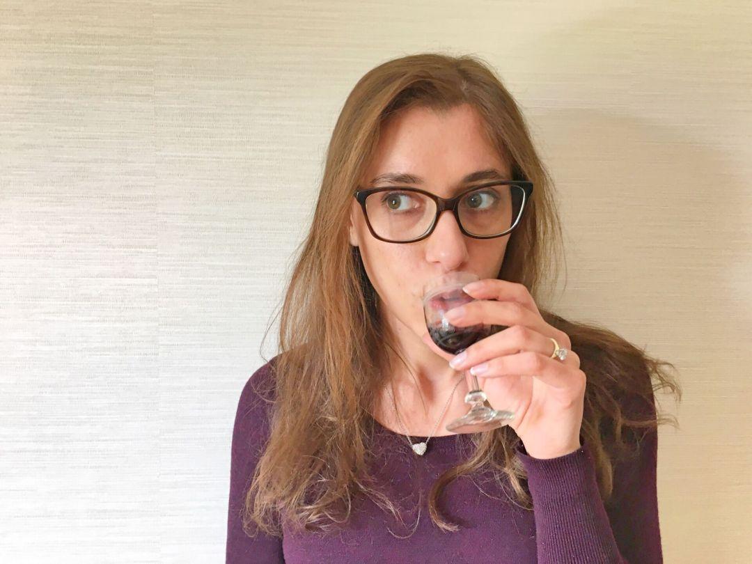Drinking licor